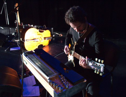 Colm McClean, guitar & pedal steel photo by Rebecca Kemp