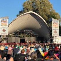 Vancouver Folk Music Festival, Vancouver, BC, Canada 13 July 2018
