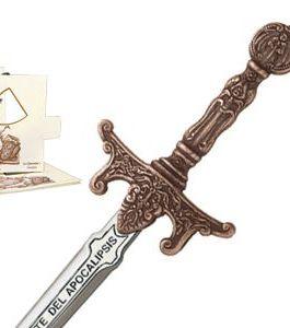 Miniature Apocalypse Riders Sword (Bronze) by Marto of Toledo Spain