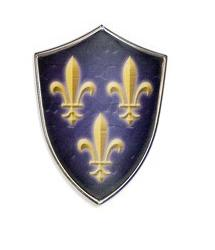 Miniature Charles V Shield by Marto of Toledo Spain