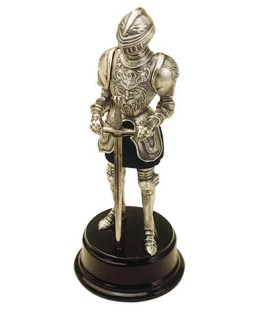 Miniature Medieval Knight Suit of Armor with Sword by Marto of Toledo Spain