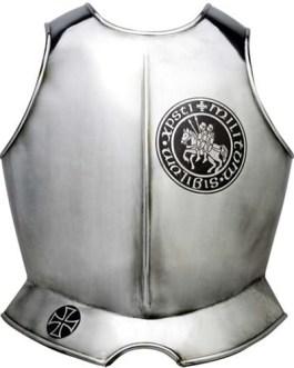 Templar Knight Armor Breastplate by Marto of Toledo Spain (Templar Seal)