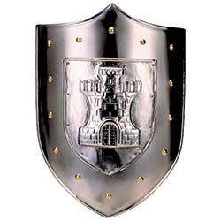 Castle Shield by Marto of Toledo Spain