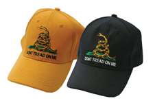 """""""DONT TREAD ON ME"""" ASSORTED COLORS CAP"""