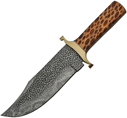 11.25 CHIPPED DAMASCUS BOWIE