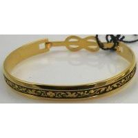 Damascene Gold Bird Bracelet by Midas of Toledo Spain style 2081