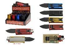 12 PIECE LIGHTER KNIFE DISPLAY