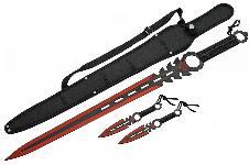 26″ MONSTER SWORD  (RED)