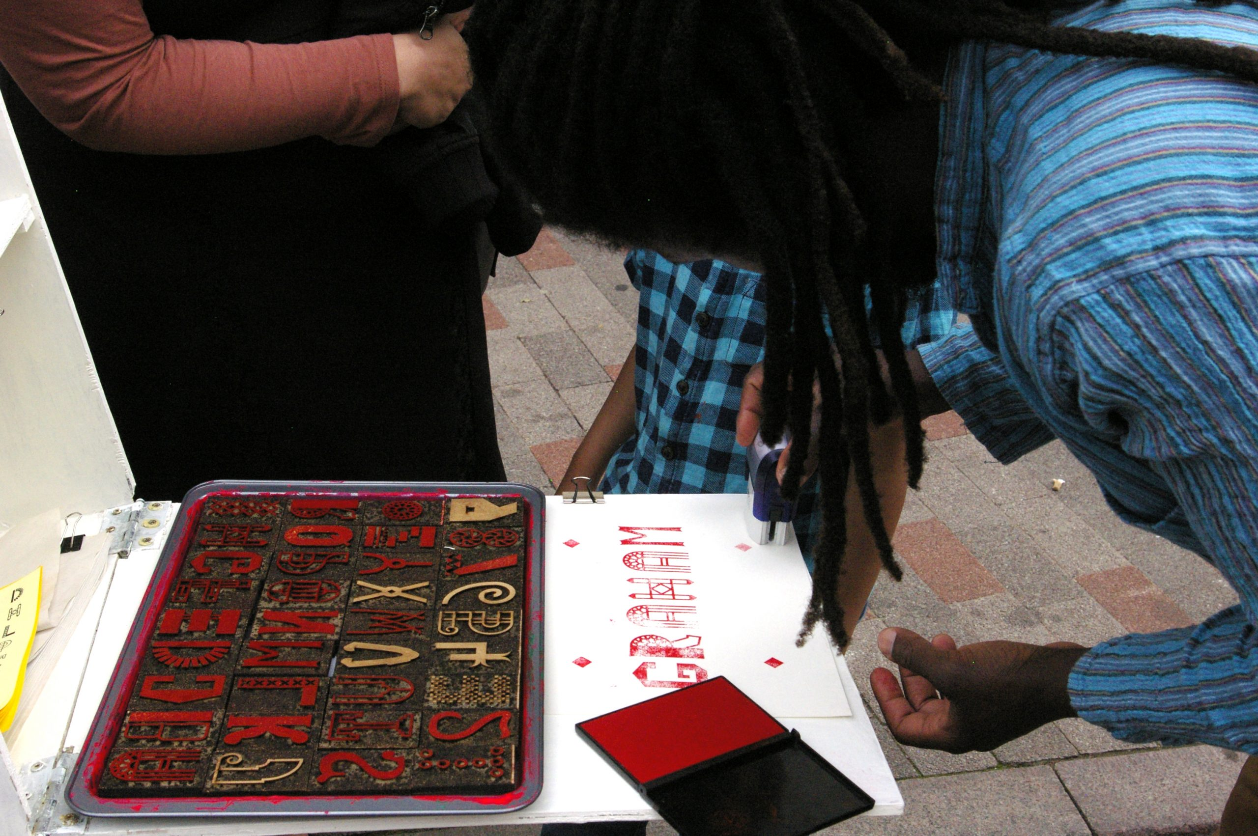 Leicester Lettering Event in Leicester Greyfriars