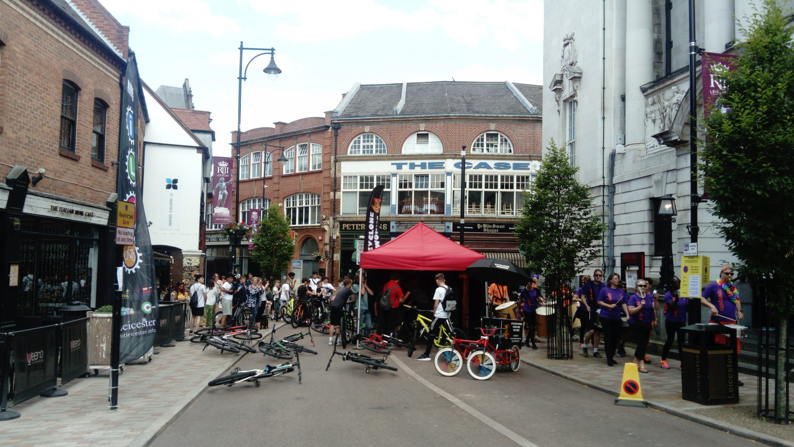 Events around Leicester Greyfriars