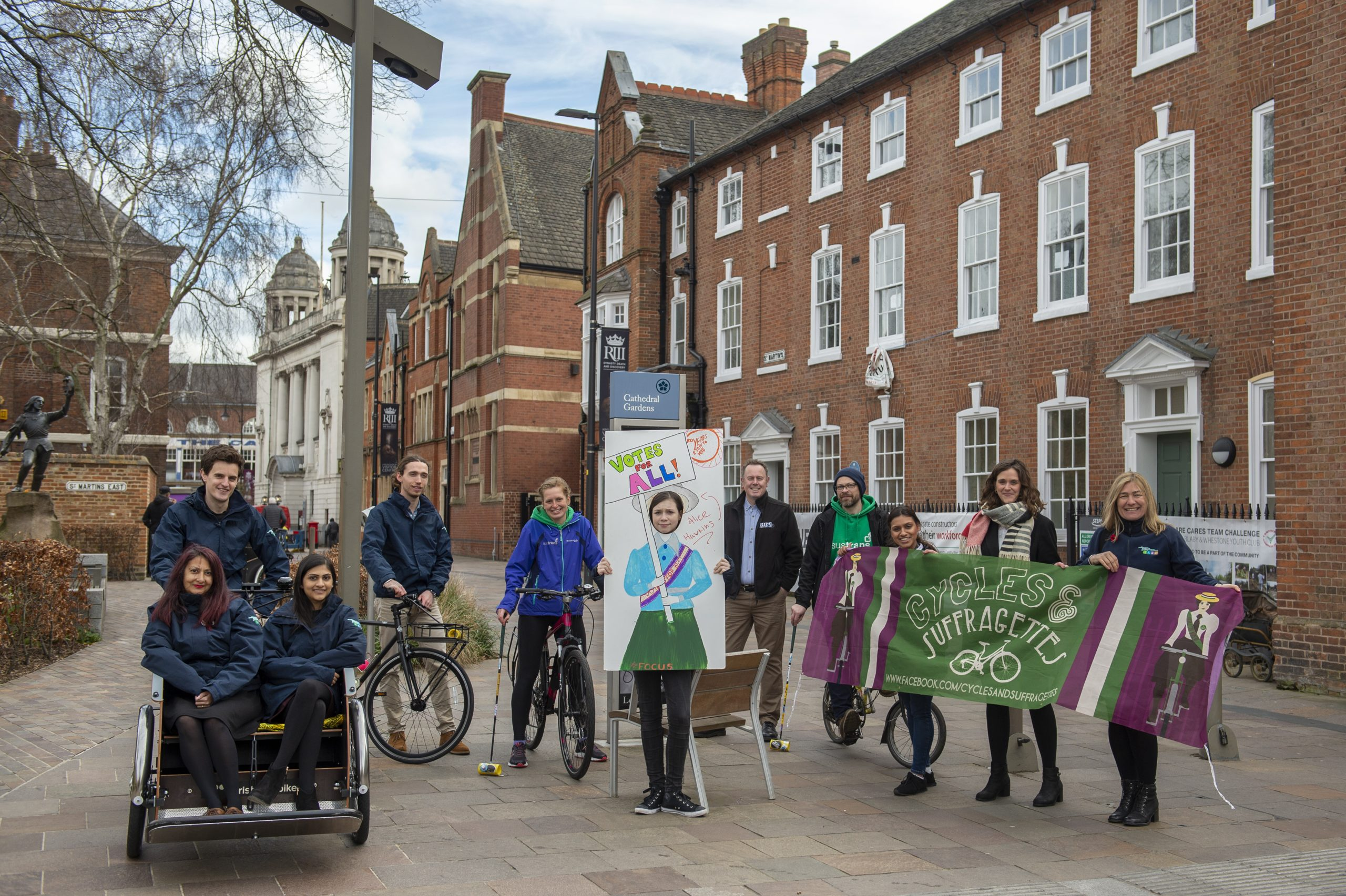Celebrating Leicester Suffragettes