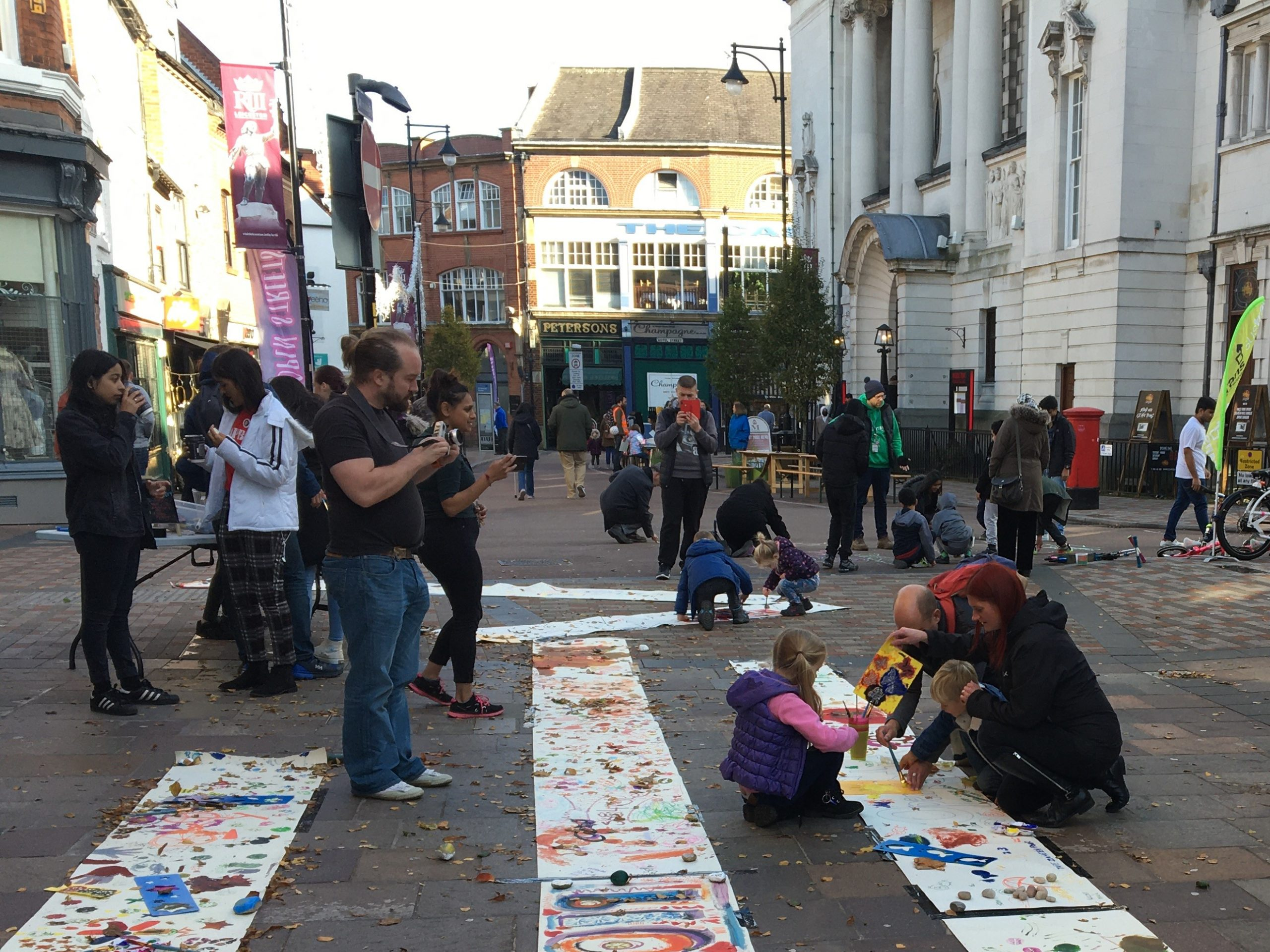 Open Streets Leicester