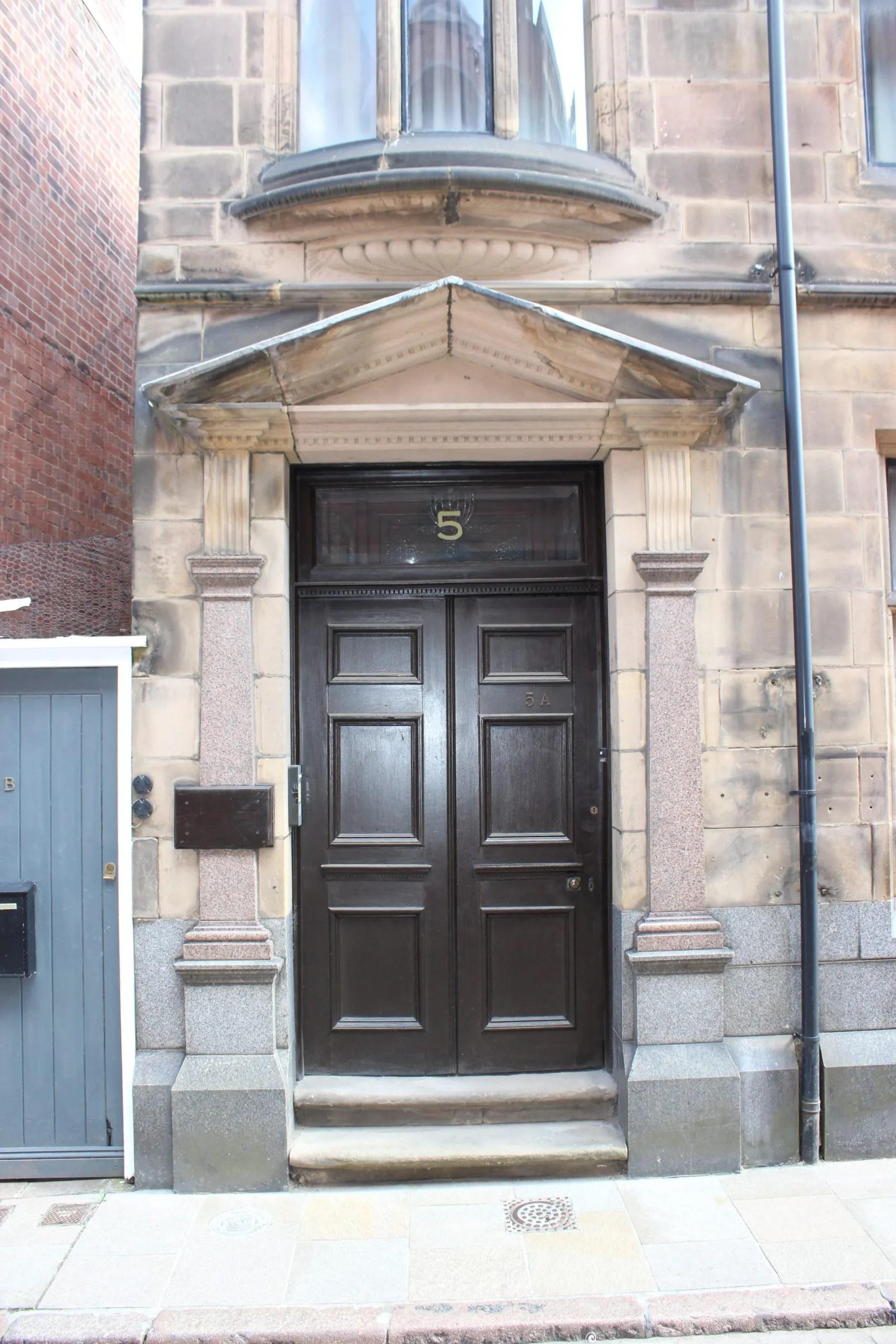 5 Friar Lane doorway after restoration