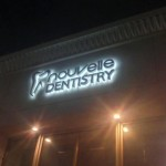Dental shop channel letter sign