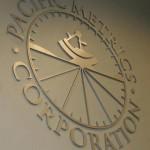Pacific Metrics Corporation custom letter sign