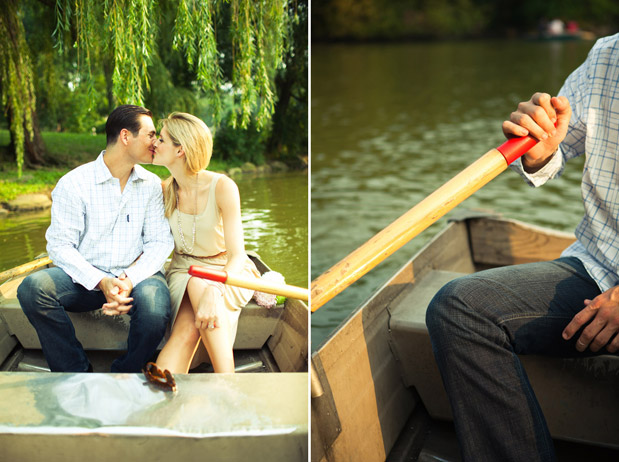 Wedding Blog Central Park Row Boat Engagement por Shannen Norman