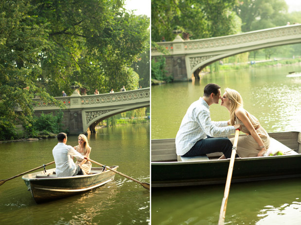 Wedding Blog Central Park Row Boat Engagement por Shannen Norman