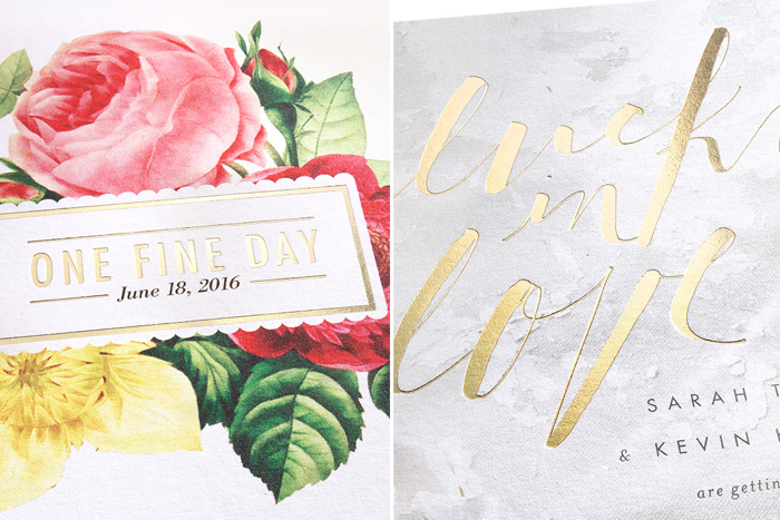 Wedding Paper Divas Spring Collection Invitations 3