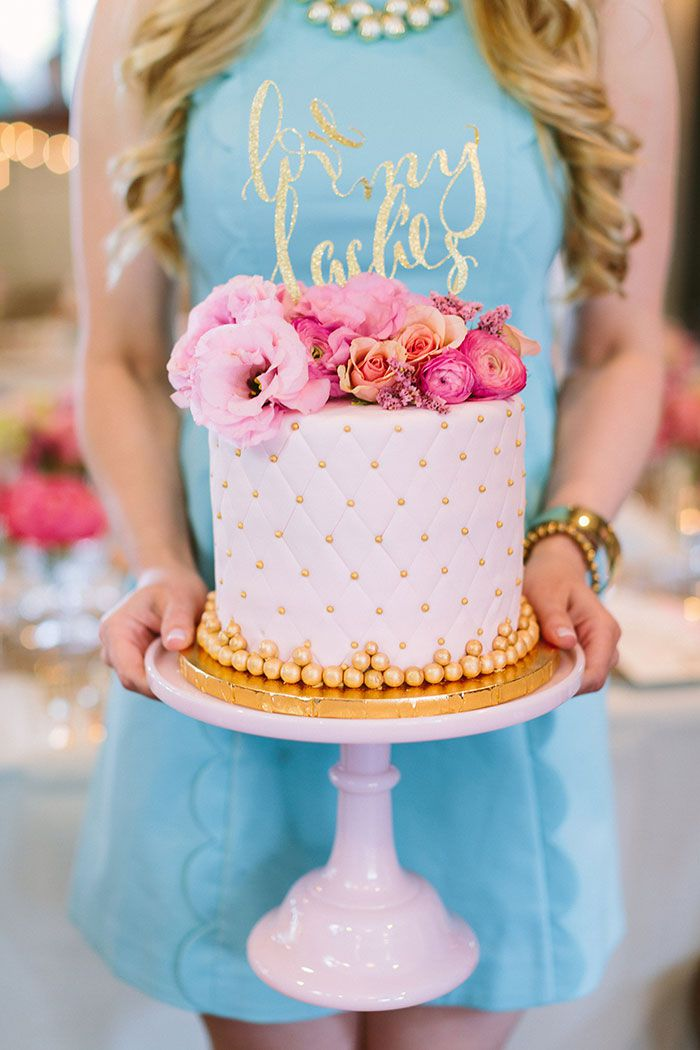 Feminine Birthday Cakes