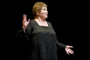 """Tina Packer in a 2010 production of """"Women of Will"""" photo by Kevin Sprague"""