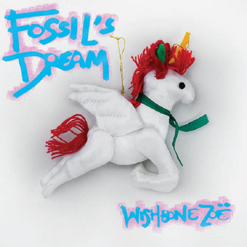 """""""Fossil's Dream,"""" by Wishbone Zoë, 2015, image courtesy Wishbone Zoë. Album available for purchase through Bandcamp!"""