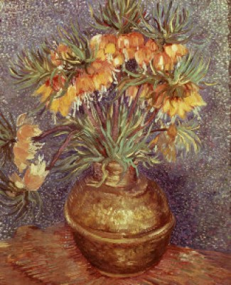 Imperial Fritillaries in a Copper Vase, Vincent Van Gogh; 1886; Musée d'Orsay Paris; hoto Credit: The Art Archive/Gianni Dagli Orti / Art Resource, NY