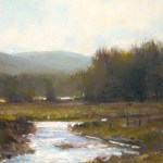 """""""Early Thaw,"""" By John MacDonalsd; image courtesy Country Curtains"""