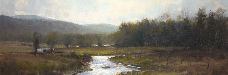 """Early Thaw,"" By John MacDonalsd; image courtesy Country Curtains"
