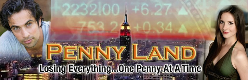 """""""Penny Land,"""" written and directed by Billy Hahn, is currently being filmed in various locations throughout the Berkshires. Pictured are two of the film's actors, David Joseph and Jamie Greenland; composite image created with submitted photos."""