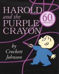 Harold and the Purple Crayon, by Crockett Johnson