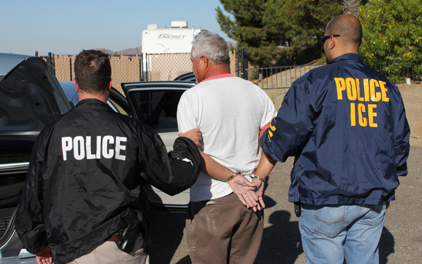 Nationwide, local law enforcement is pushing back against pressure to perform the work of U.S. Immigration and Customs Enforcement, often disregarding immigration detainers; photo by Department of Homeland Security; public domain; via Wikimedia Commons</span></a>