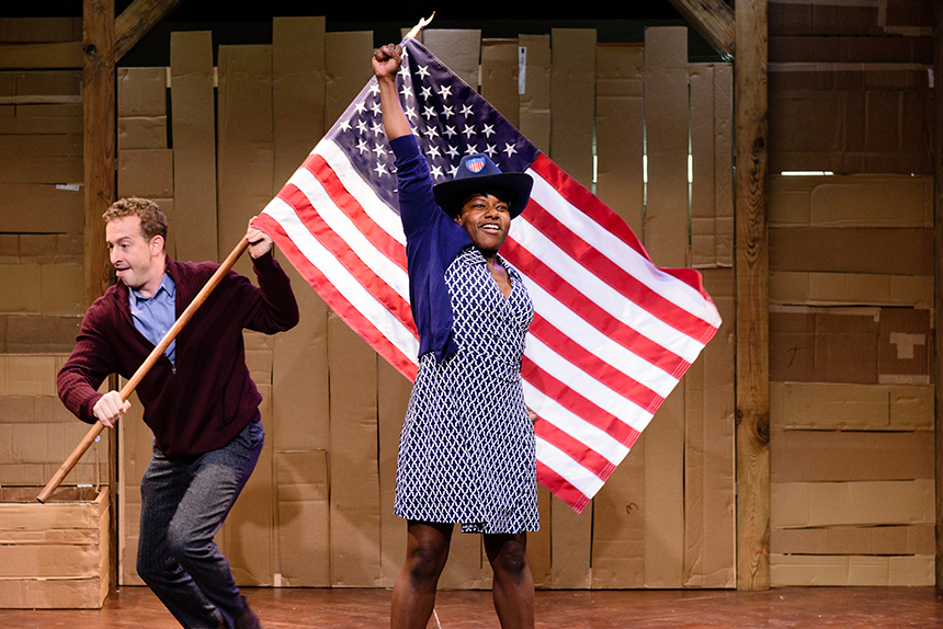 Underground Railroad Game, created by Jennifer Kidwell & Scott R. Sheppard, and directed by Taibi Mager, plays the '62 Center March 1.