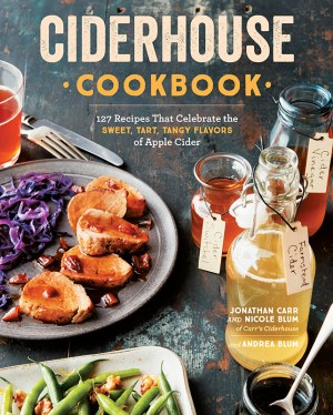 The Ciderhouse Cookbook debuts at HEIRLOOM by design at Greylock WORKS July 28, 2018; image courtesy Storey Publishing.