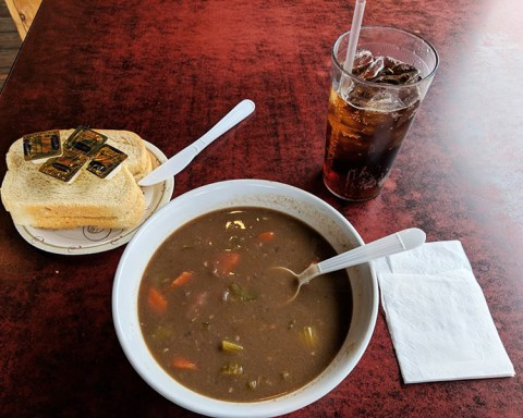 The Hot Dog Ranch in North Adams offers a home-style Beef stew that earns it's place on the Unsung Eats chart; photo by James Kennedy.