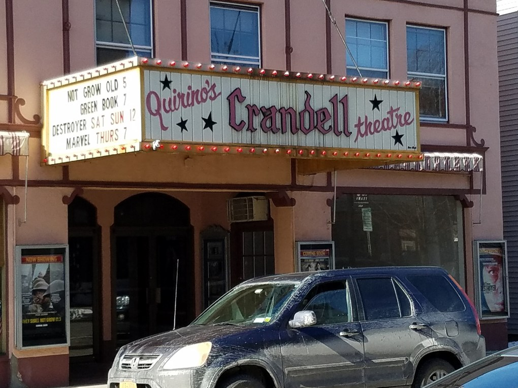 The Crandell Theatre could best be described as a living landmark; photo by Robin Catalano.