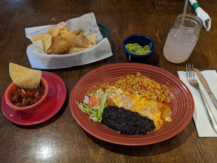 Desperados serves up hot, hearty, healthful, house-made dishes that won't be instantly metabolized when you're on the run the way fast food is; photo by James Kennedy.
