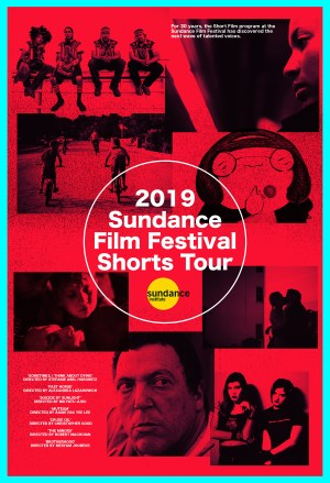 Poster for the 2019 Sundance Film Festival Shorts Tour