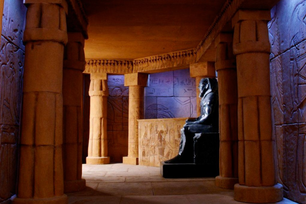 Photo of the interior of the Tomb: Walking into a convincing slice of ancient Egypt, the Crossroads Mall immediately recedes into distant memory; photo courtesy 5 Wits.