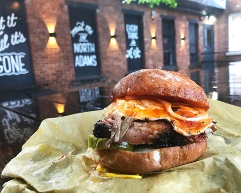 The unadvertised Brisket, Egg & cheese sandwich is legendary, and not just because it's a limited edition; photo by Jason Velázquez.
