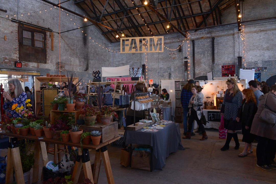Basilica Farm and Flea Market; photo by Elise McMahon.