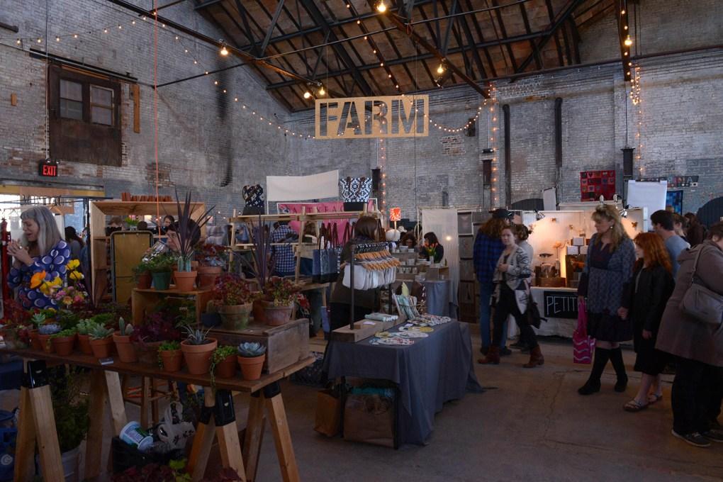 Basilica Farm and Flea Market; photo by Elise McMahon.