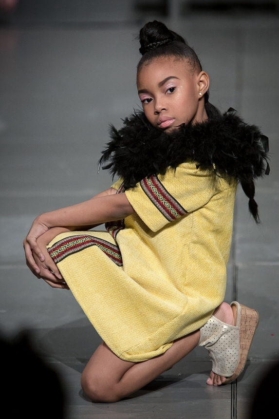 Designs by Jeen at the 2nd Annual Forever Young Fashion Show; photo by Doug Mitchell.