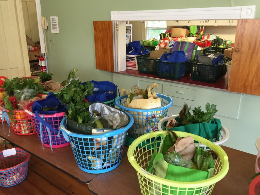 The Sheffield Food Assistance Program has been serving residents of the Southern Berkshire Regional School District for over 30 years; photo courtesy the First Congregational Church of Sheffield, United Church of Christ.