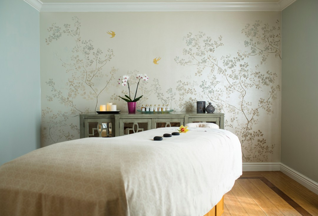 Once physical distancing isn't required anymore, an honest to goodness massage at an honest to goodness spa might be in order. Delamare has you covered; photo couresty Delamar.