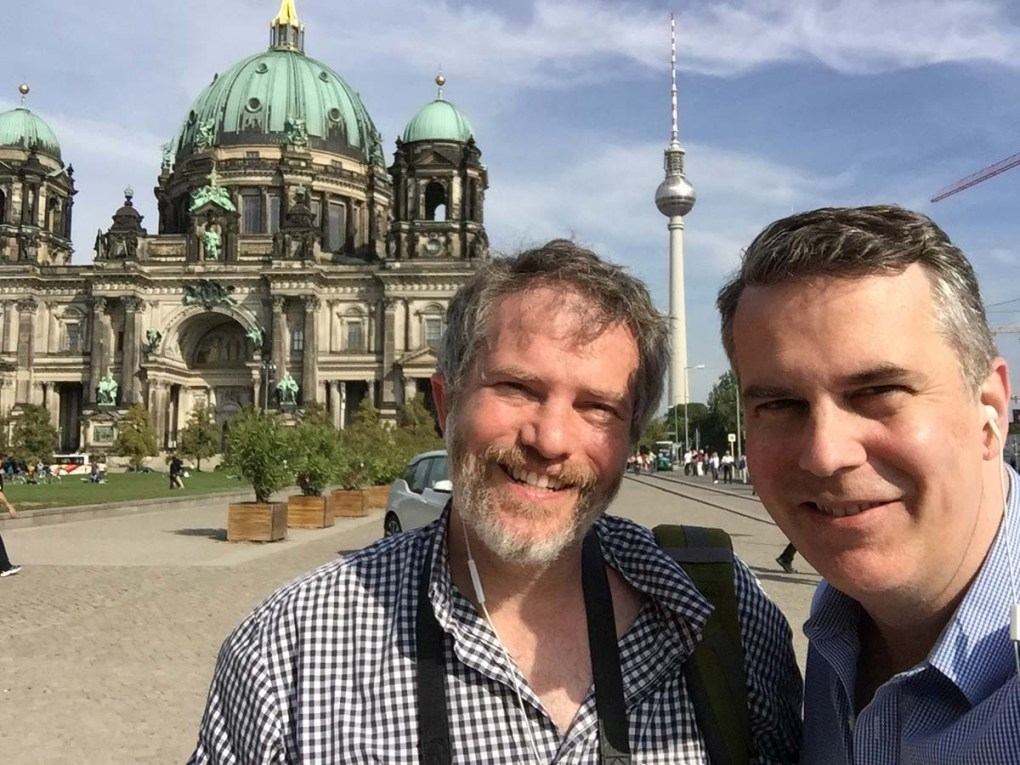 Visiting Berlin with Huckleberry Travel, a company that helps LGBTQ travelers tour safely.