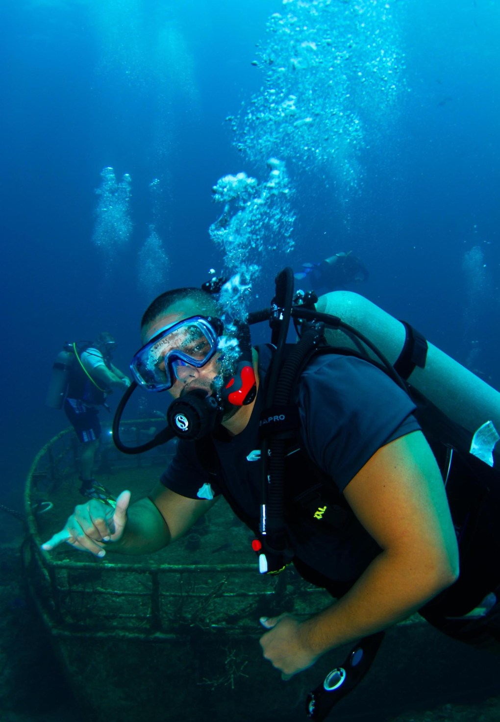 Scuba exploration with Undersea Expeditions, and LGBTQ travel company out of Hawaii.