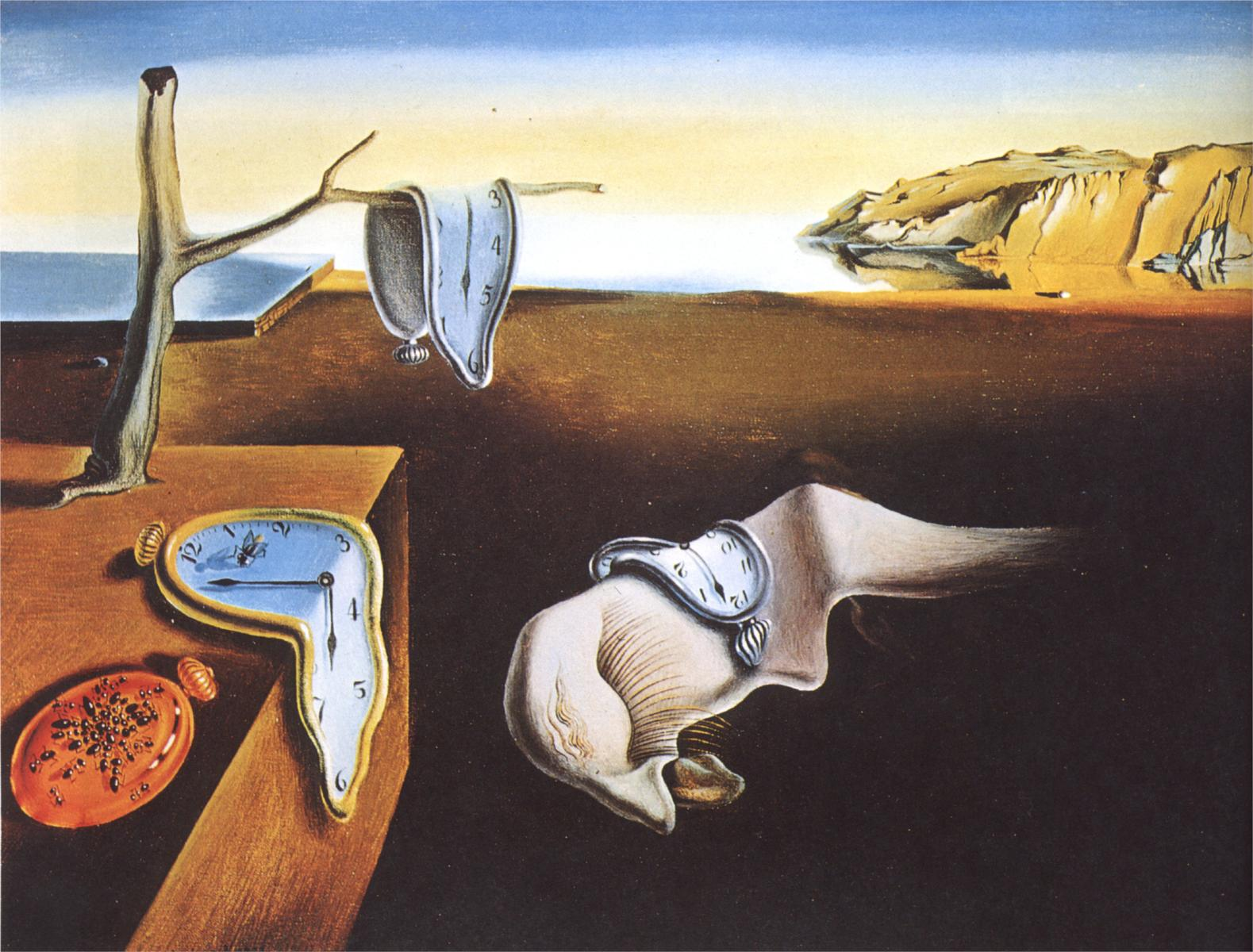 Salvador Dali - The Persistence of Memory - 1931