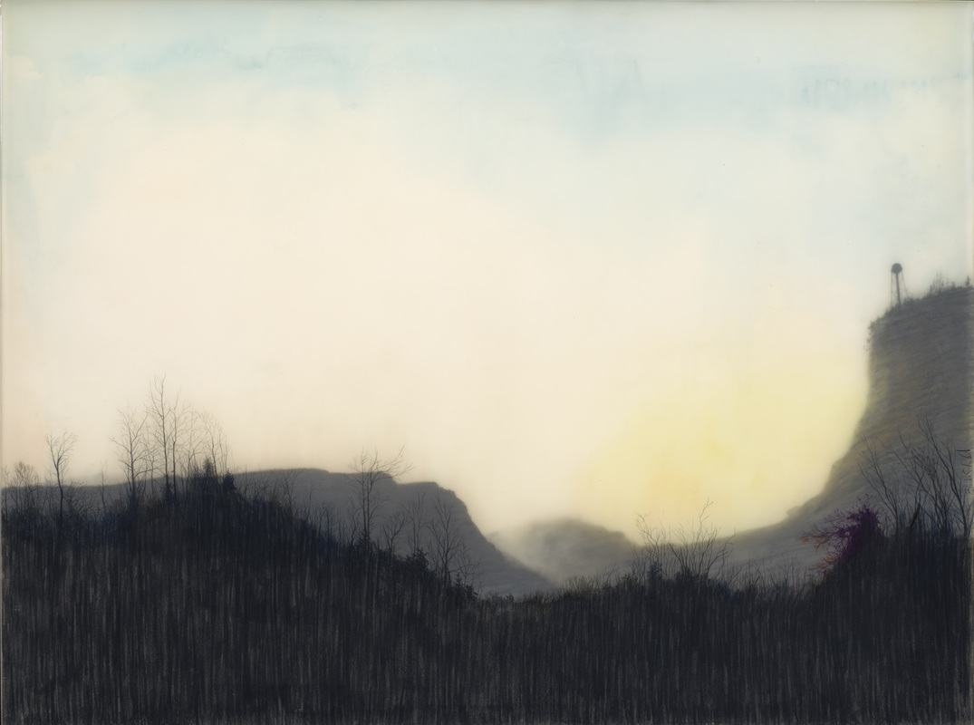Brooks Shane Salzwedel - Cliff with Misplaced Water Tower - 2013