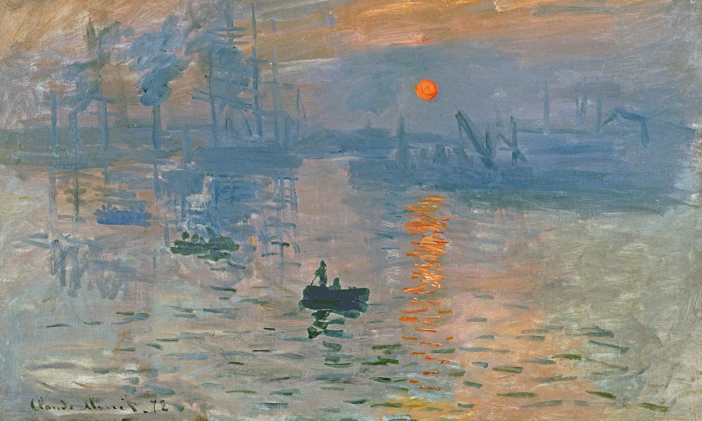 Claude Monet - Impression, Sunrise (1872)