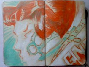 ian rogers sketchbook 5-day challenge 05